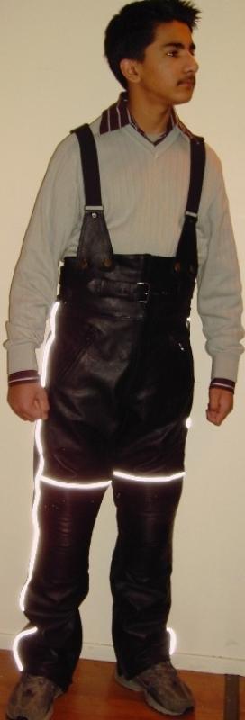 ... mc bukse til barn 100 % vanntett ce polstringer str 5 til 12 ?r